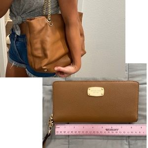 Michael Kors purse and wallet bundle!